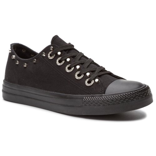 e0d20d9ad2 Rekreační obuv Nylon Red WYL6055-2 černá Dámské - Boty - Plátěnky ...