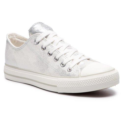 d89fd67eafdf Rekreační obuv Nylon Red WP40-CZ004 stříbrná Dámské - Boty ...