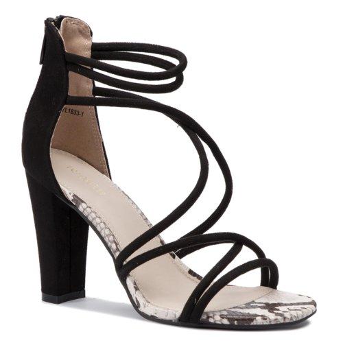 90479d9bddfe sandále DeeZee WYL1833-1 čierna Dámske - Topánky - Sandále - https ...