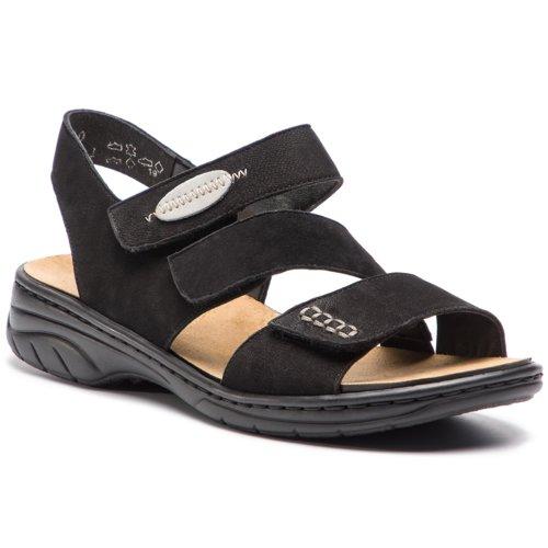 b7d82762f2dd sandále Rieker 64573-00 čierna Dámske - Topánky - Sandále - https ...