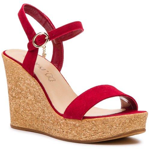 a0d3552449db sandále Lasocki 2190-01 červená Dámske - Topánky - Sandále - https ...