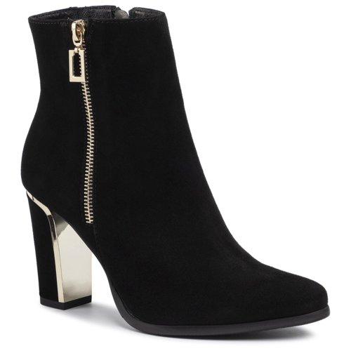 ccc buty botki czarne