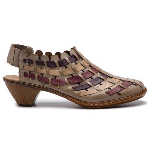 b414d0b7fd8f sandále Rieker 46778-62 béžová Dámske - Topánky - Sandále - https ...