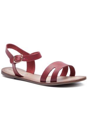 3bf3d256f2 sandále Via Ravia ARC-REFI-01 červená