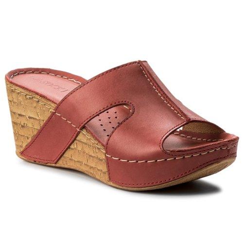 22277dd18b papuče Lasocki 1465-01 červená Dámske - Topánky - Šľapky - https ...