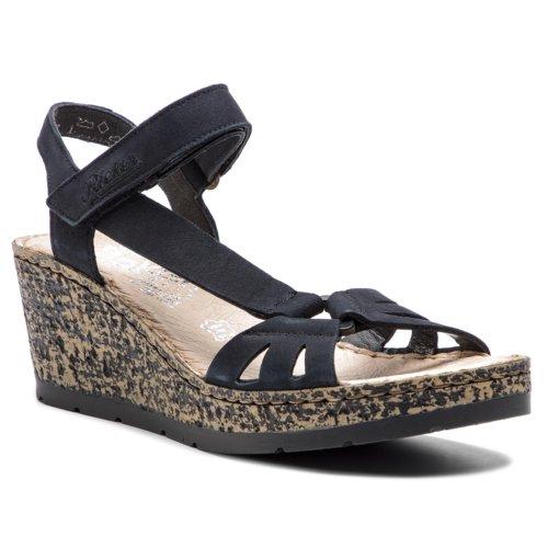 8a12d947e8 Szandál Rieker V7671-14 Fekete Női - Cipők - Szandálok - https://ccc.eu