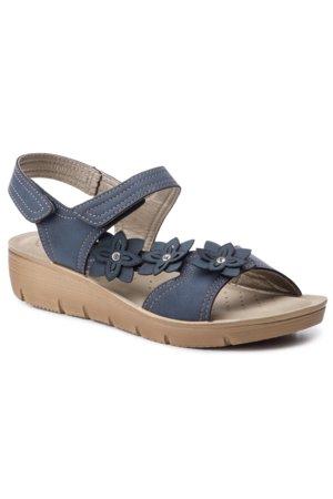 85d44984dee7 sandále INBLU LIAEOO54 tmavomodrá