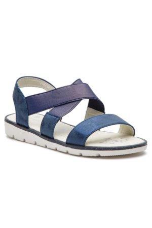 07901f7d15ea sandále Nelli Blu CM336-18 tmavomodrá