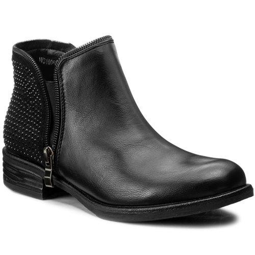 b0b874771a13 členková topánka Jenny Fairy WS16068-3 čierna Dámske - Topánky ...