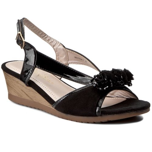 88440f1f3 sandále Clara Barson WS17036-7 čierna Dámske - Topánky - Sandále ...