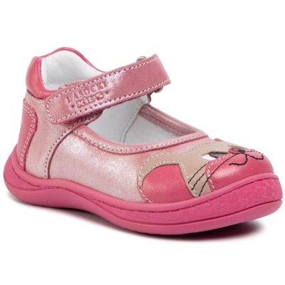 Pantofi cu toc mediu Lasocki Kids CI12-EVAM-08 Piele naturală - Nubuc imagine ccc.eu