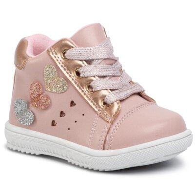 Pantofi cu toc mediu Nelli Blu CM190725-2 Piele ecologică/-Piele ecologică
