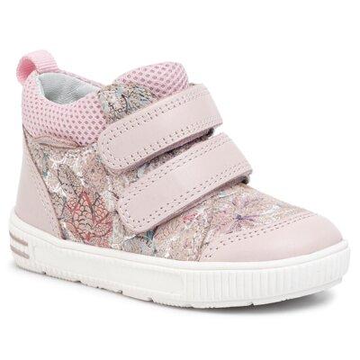 Pantofi cu toc mediu Lasocki Kids ARC-MAROCO-05 Piele naturală - De antilopă imagine ccc.eu