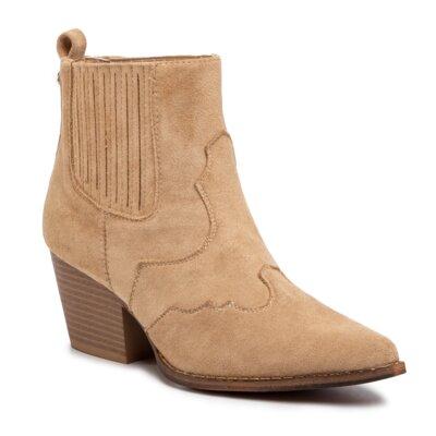 Levně Kotníkové boty DeeZee WS300701-01 Látka/-Látka