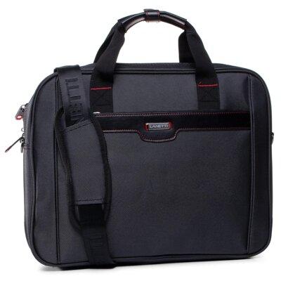 Levně Pánské tašky Lanetti BMM-S-004-10-03 Textilní materiál