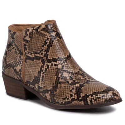 Levně Kotníkové boty DeeZee WS300703-01 Ekologická kůže /-Ekologická kůže