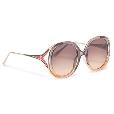 Levně Sluneční brýle ACCCESSORIES 1WA-040-SS20 Plastik,Materiál - kov