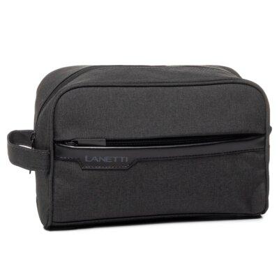 Levně Pánské tašky Lanetti BMK-S-021-11-03 Textilní materiál