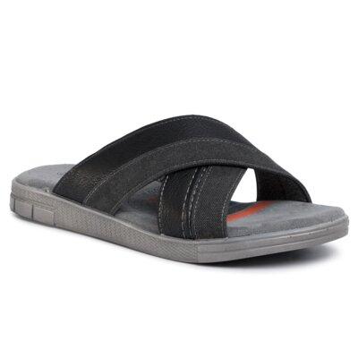 Papuci Lanetti MSS20231-08 Piele ecologică/-Piele ecologică imagine