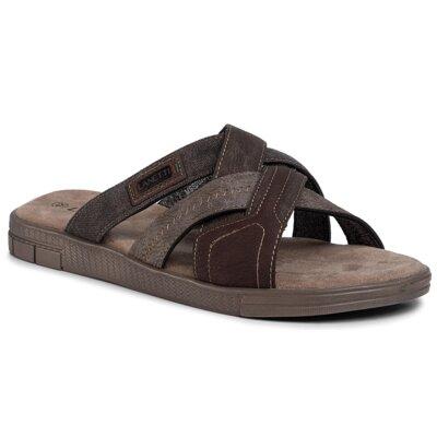 Papuci Lanetti MSS20231-09 Piele ecologică/-Piele ecologică imagine