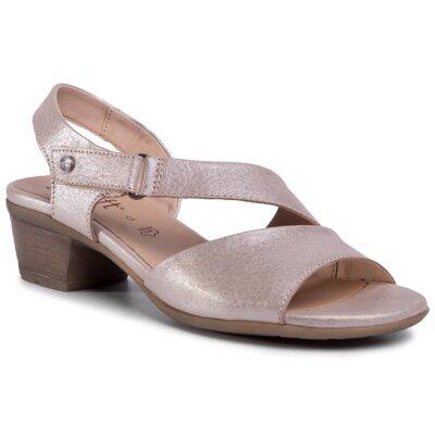 Sandale GO SOFT WI23-BETTY-05 Piele naturală - Nubuc