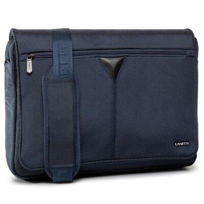 Levně Pánské tašky Lanetti BMM-S-040-90-03 Textilní materiál