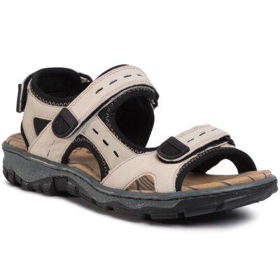 Sandale Rieker 68872-60 Piele naturală - Nubuc imagine ccc.eu