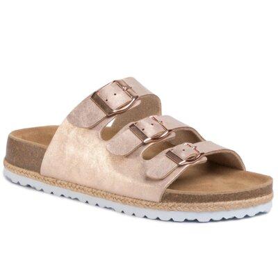 Levně Pantofle GO SOFT 274528 Imitace kůže/-Ekologická kůže