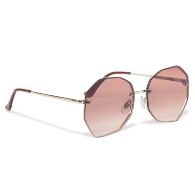 Levně Sluneční brýle ACCCESSORIES 1WA-082-SS20 Materiál - kov