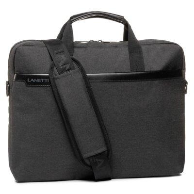 Levně Pánské tašky Lanetti BMM-S-019-11-03 Textilní materiál