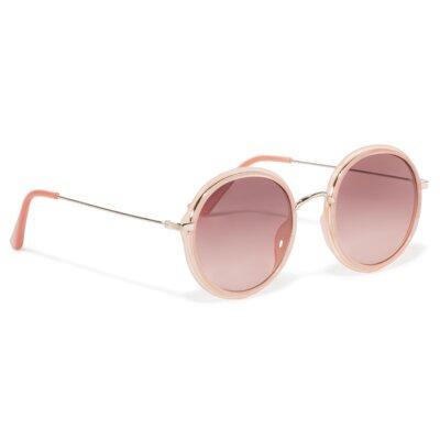 Levně Sluneční brýle ACCCESSORIES 1WA-077-SS20 Plastik,Materiál - kov