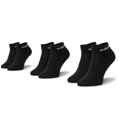 Ponožky ADIDAS Bs Ankle 3Pp CZ7524 r.39/42 Elastan,polyamid,polyester,bavlna
