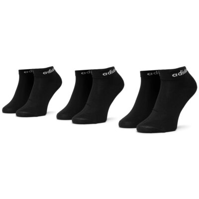 Ponožky ADIDAS Bs Ankle 3Pp CZ7524 r.43/46 Elastan,polyamid,polyester,bavlna