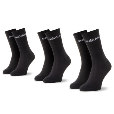 Ponožky ADIDAS CZ7292 r.35/38 Elastan,polyamid,polyester,bavlna