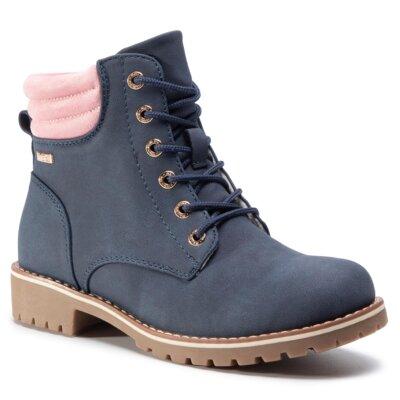 Levně Šněrovací obuv Nelli Blu Tex CS722-60T Ekologická kůže /-Ekologická kůže