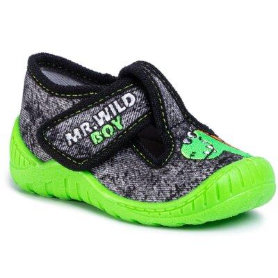 Papuci de casă MB 2K8/18-28POIR Material/-Material
