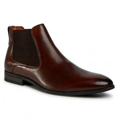 Levně Kotníkové boty Lasocki for men MI08-C736-743-09 Přírodní kůže (useň) - Lícová