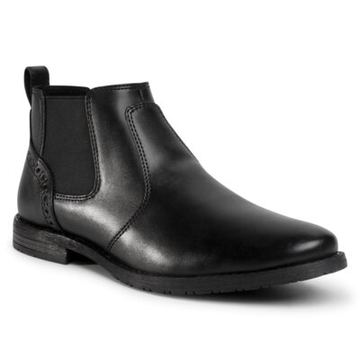 Levně Kotníkové boty Lanetti MBS-STEVEN-110 Imitace kůže/-Ekologická kůže