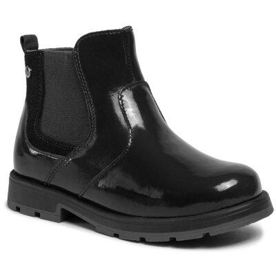 Levně Kotníkové boty Lasocki Kids CI12-BLUND-01 Přírodní kůže (useň) - Lakovaná