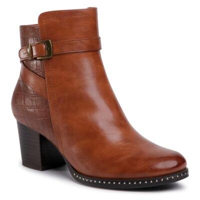 Levně Kotníkové boty Clara Barson WYL1891-9 Ekologická kůže /-Ekologická kůže