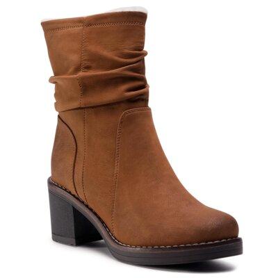 Levně Kotníkové boty Clara Barson WS2987-05 Ekologická kůže /-Ekologická kůže