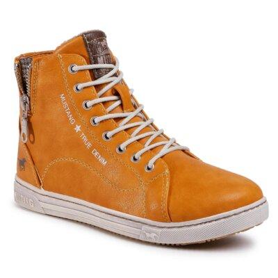 Levně Šněrovací obuv Mustang 1349-503 Ekologická kůže /-Ekologická kůže