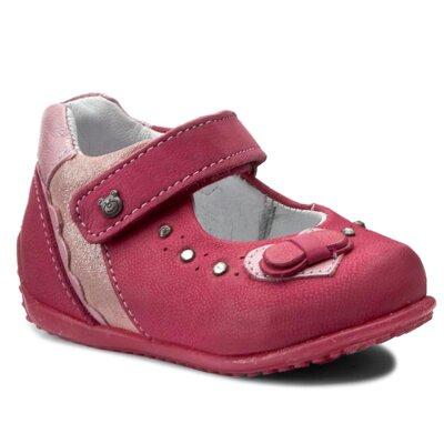 Pantofi cu toc mediu Lasocki Kids CI12-MOCCA-51 Piele naturală - Nubuc imagine ccc.eu