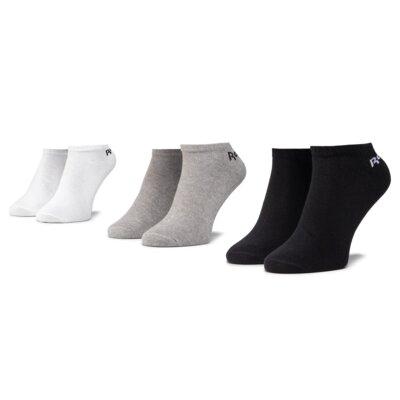 Levně Ponožky Reebok FL5225 r.43-45 Elastan,Polyamid,Polyester,Bavlna