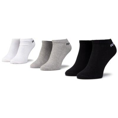 Levně Ponožky Reebok FL5228 r.40-42 Elastan,Polyamid,Polyester,Bavlna