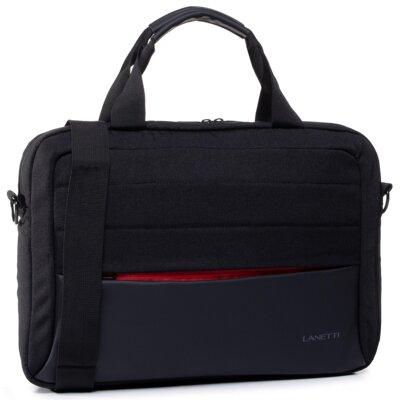 Levně Pánské tašky Lanetti BMM-S-035-10-04 Textilní materiál