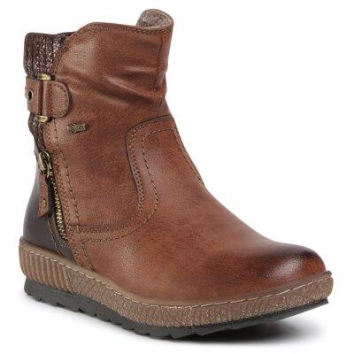 Levně Kotníkové boty GO SOFT BY RELIFE 0717-18802B-15R Imitace kůže/-Ekologická kůže