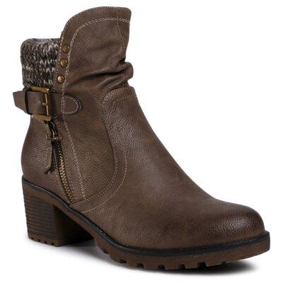 Levně Kotníkové boty Clara Barson WS5011-02 Ekologická kůže /-Ekologická kůže