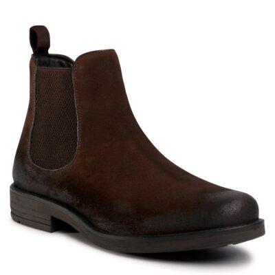 Levně Kotníkové boty Lasocki for men MI08-C608-586-16 Přírodní kůže (useň) - Semiš