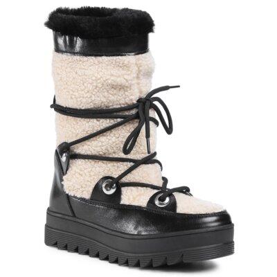 Levně Kotníkové boty DeeZee WS5019-06 Ekologická kůže /-Ekologická kůže